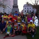 Australia's Marathon Man Trent Morrow chasing the World Record for the most marathons in twelve months; marathonman; running man; new orleans marathon