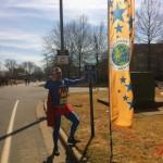 Australia's Marathon Man Trent Morrow chasing the World Record for the most marathons in twelve months; marathonman; running man; little rock marathon